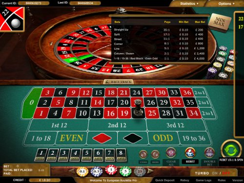 Play Roulette at Party Casino