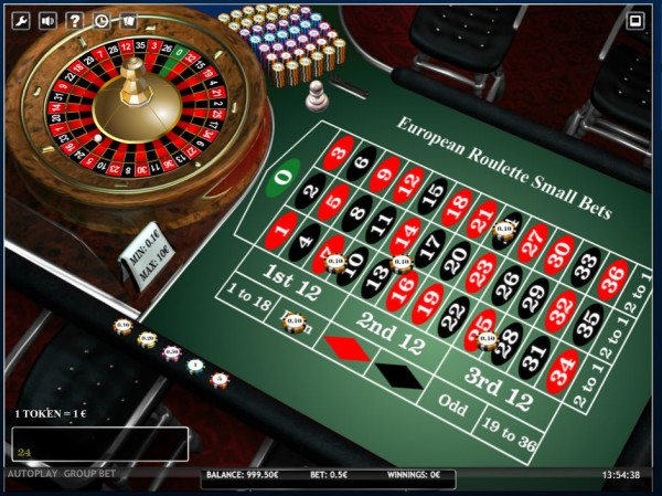 casino betting limits