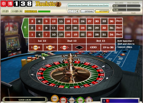 1p Roulette