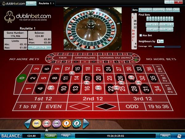 Dublin online roulette heraut online vacatures
