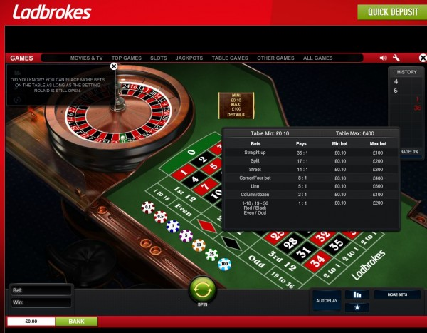 Ladbrokes roulette odds best playing cards poker